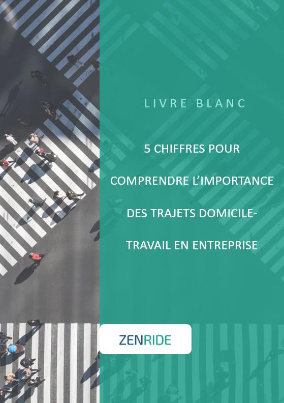 Cover Livre Blanc - 5 chiffres clés sur les trajets domicile-travail