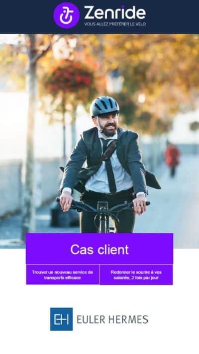 Zenride x Euler Hermes Cas Client cover
